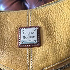 Yellow Dooney and Bourke bag